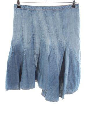 Ichi Jeansrock blau Casual-Look