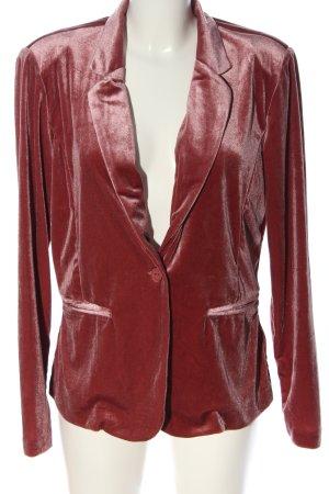 Ichi Kurz-Blazer rot Casual-Look