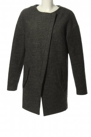 Ichi Krótki płaszcz jasnoszary Melanżowy W stylu casual