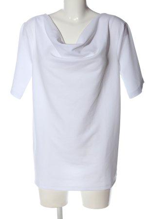 Ichi Langarm-Bluse weiß Casual-Look