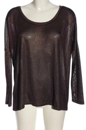 Ichi Feinstrickpullover bronzefarben Casual-Look