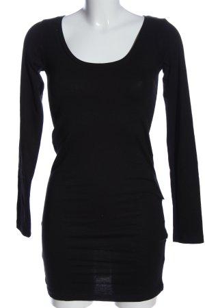 Ichi Camicia lunga nero stile casual