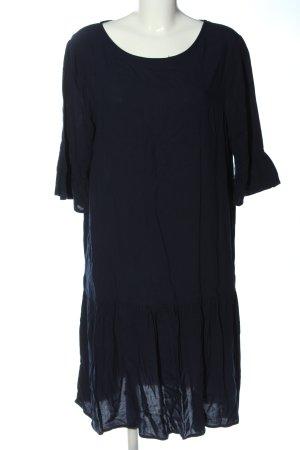 Ichi Midikleid blau Casual-Look