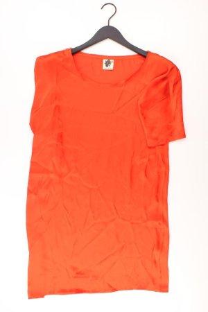 Ichi Midikleid Größe S orange aus Polyester