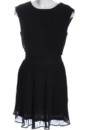 Ichi Mini vestido negro elegante