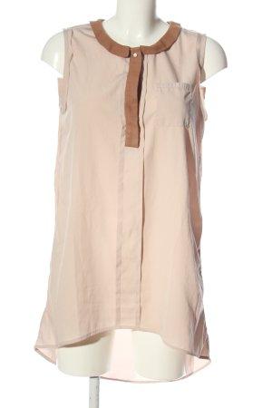 Ichi Mini vestido crema look casual