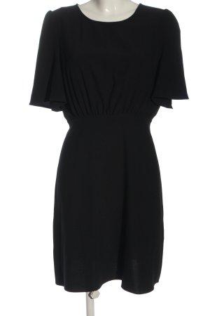Ichi Mini vestido negro look casual