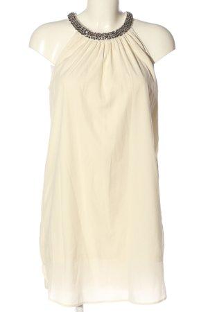 Ichi Sukienka mini kremowy W stylu casual