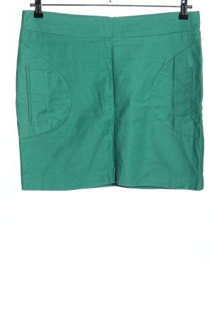 Ichi Mini rok groen casual uitstraling
