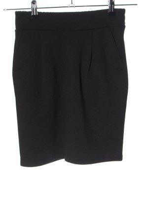 Ichi Mini rok zwart zakelijke stijl