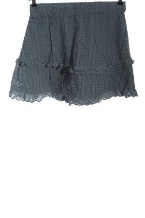Ichi Mini rok blauw casual uitstraling