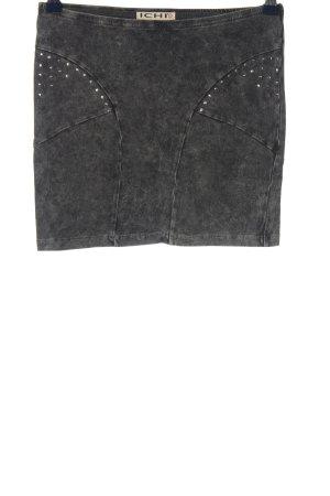 Ichi Mini-jupe gris clair style décontracté