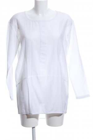 Ichi Oversized Bluse weiß Casual-Look