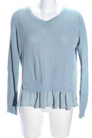 Ichi Oversized Pullover blau Casual-Look