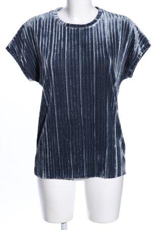 Ichi Camisa acanalada gris claro look casual