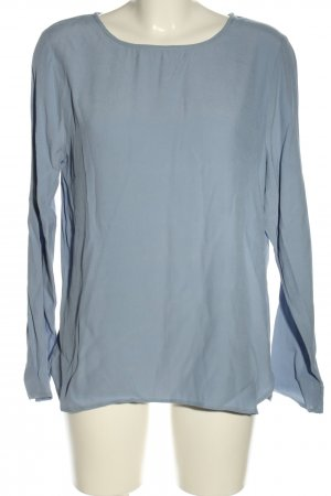 Ichi Schlupf-Bluse blau Casual-Look