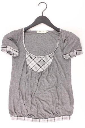 Ichi Shirt Größe XS grau aus Viskose