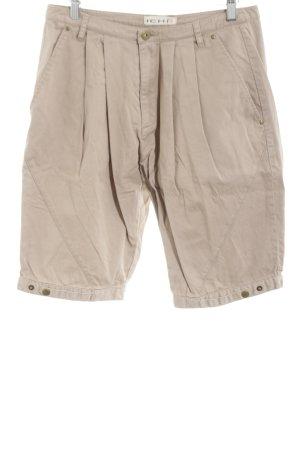 Ichi Shorts cream casual look