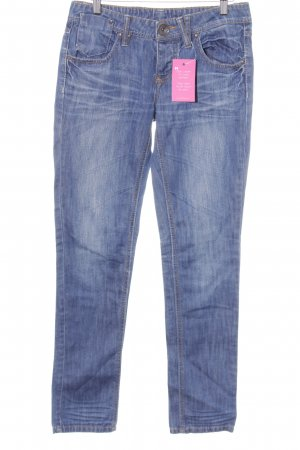 Ichi Skinny Jeans blau Casual-Look