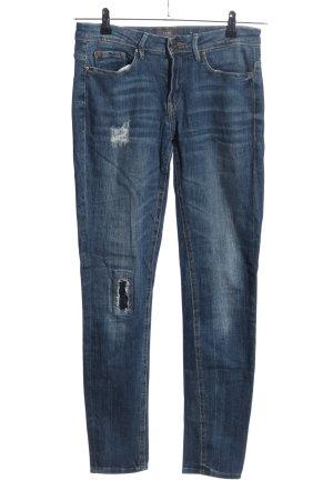 Ichi Slim Jeans blau Casual-Look