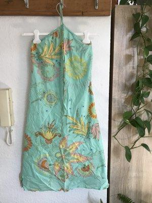 Ichi Robe de plage multicolore coton