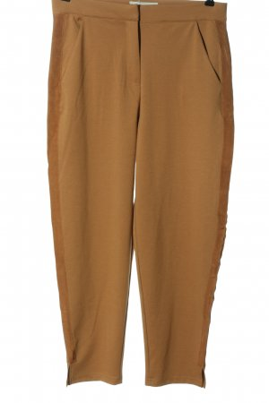Ichi Jersey Pants brown business style