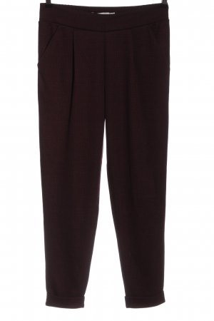 Ichi Jersey Pants red-black allover print business style