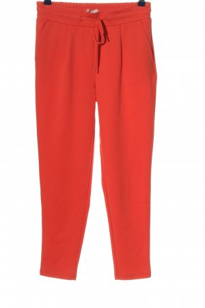 Ichi Jersey Pants red casual look