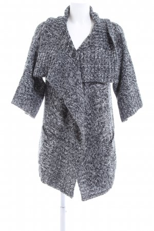 Ichi Strick Cardigan hellgrau Casual-Look