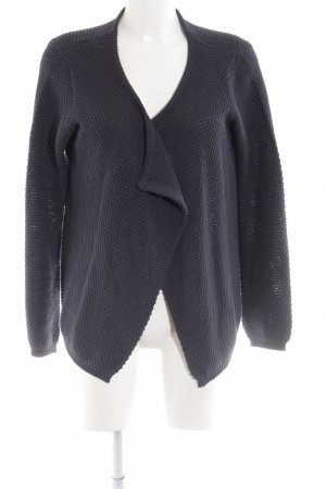 Ichi Strickjacke blau Business-Look