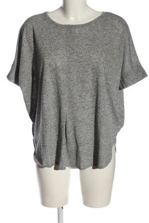 Ichi Camiseta gris claro moteado look casual