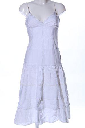 Ichi Sukienka na ramiączkach biały W stylu casual