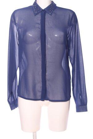 Ichi Blouse transparente bleu élégant