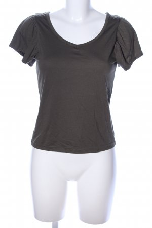Ichi V-Ausschnitt-Shirt khaki Casual-Look