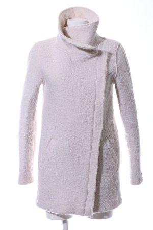 Ichi Cappotto in lana bianco sporco stile professionale