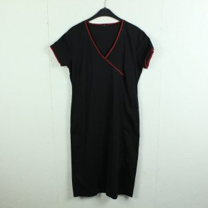 ICHJANE Kleid Gr. 40 schwarz/rot (21/03/012*)