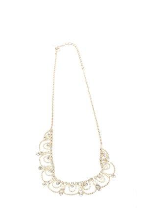 ICING Collar estilo collier color oro elegante