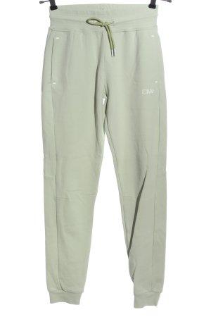 ICIW Pantalón deportivo gris claro estilo sencillo