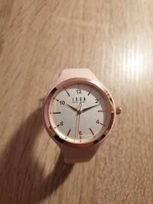 Icon Uhr aus Silikonarmband