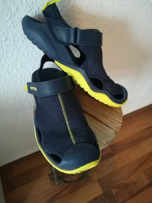 Crocs Sandalo outdoor giallo neon-blu scuro
