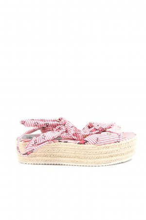 Iconic Espadrillas motivo astratto stile casual