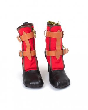 Iconic Vivienne Westwood pirate high top booties in EU size 40