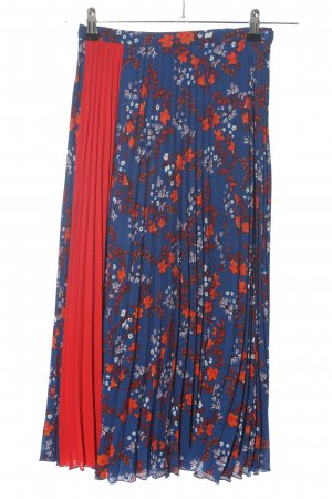 Idano Pleated Skirt flower pattern casual look