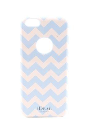 Ideal Carcasa para teléfono móvil azul-nude letras impresas