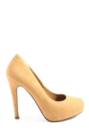Ideal High Heels hellorange Casual-Look