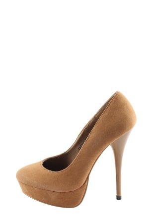 Ideal High Heels nude extravaganter Stil