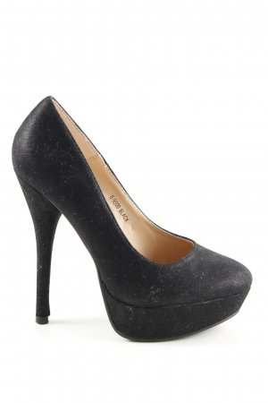Ideal High Heels schwarz Casual-Look