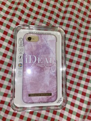 Ideal of Sweden Key Chain white-light pink