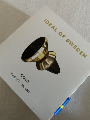 Ideal of Sweden Pendant black-gold-colored