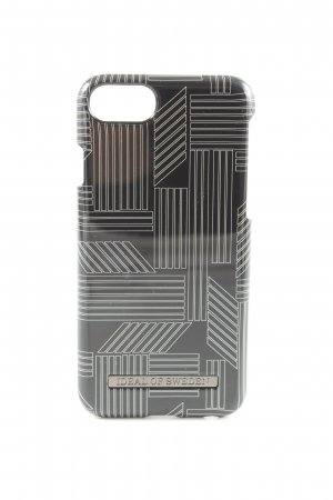 Ideal of Sweden Mobile Phone Case black-white striped pattern casual look